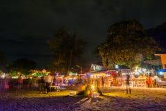 Partido da Lua cheia em Koh Phangan Imagens de Stock Royalty Free