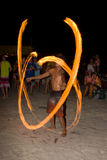 Partido da Lua cheia no Koh Phangan da ilha, Tailândia Fotos de Stock Royalty Free