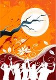 Partido da meia-noite Imagem de Stock Royalty Free