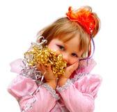 Partido da menina do miúdo. Imagens de Stock Royalty Free