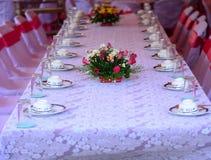 Partido da mesa Fotos de Stock Royalty Free