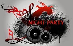 Partido da noite Fotografia de Stock
