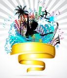Partido da praia Imagens de Stock Royalty Free