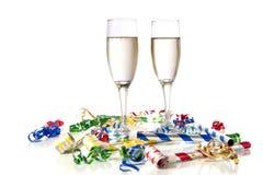 Partido da véspera de Ano Novo Fotografia de Stock