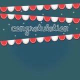 Partido das felicitações ilustração stock
