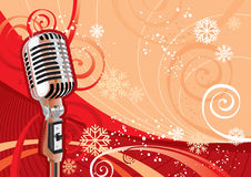 Partido de ano novo - ilustração Fotografia de Stock Royalty Free