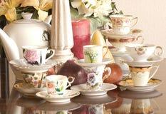 Partido de chá foto de stock royalty free