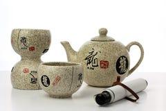 Partido de chá foto de stock