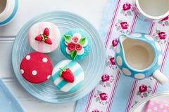 Partido de chá do verão fotos de stock