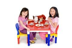 Partido de chá Fotografia de Stock