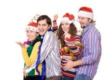 Partido de Christmass Foto de Stock Royalty Free
