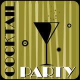 Partido de cocktail ilustração royalty free