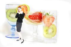 Partido de cocktail do negócio fotografia de stock royalty free