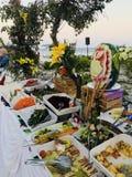 Partido de comida fr?a fotos de archivo libres de regalías