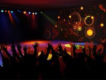 Partido de danza stock de ilustración