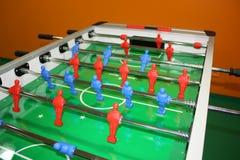 Partido de fútbol del vector Foto de archivo libre de regalías