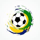 Partido de fútbol del vector libre illustration