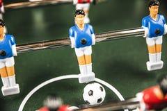 Partido de fútbol de la tabla, luz abstracta imagen de archivo libre de regalías