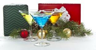 Partido de feriado com presentes Fotografia de Stock