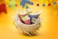 Partido de Festa Junina Imágenes de archivo libres de regalías