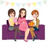 Partido de fiesta de bienvenida al bebé Imagenes de archivo