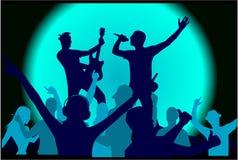Partido de Grunge Imagens de Stock Royalty Free