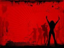Partido de Grunge Foto de archivo libre de regalías