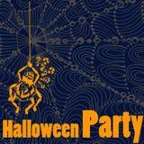 Partido de Halloween ilustração royalty free