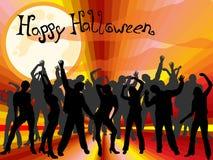 Partido de Halloween Imagem de Stock