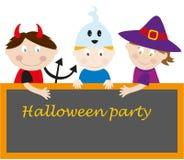 Partido de Halloween Foto de Stock