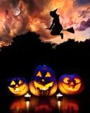 Partido de Halloween Imágenes de archivo libres de regalías