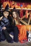 Partido de Halloween Fotos de Stock Royalty Free