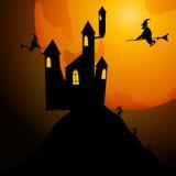 Partido de Halloween Ilustração do vetor Foto de Stock Royalty Free