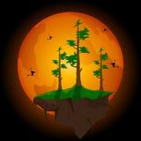 Partido de Halloween Ilustração do vetor Fotografia de Stock