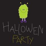 Partido de Hallowen Imagenes de archivo