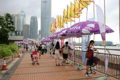 partido de HK Dragon Boat Carnival imagens de stock
