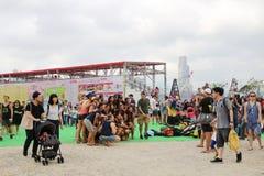 partido de HK Dragon Boat Carnival imagens de stock royalty free