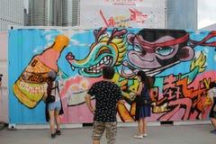 partido de HK Dragon Boat Carnival fotos de stock
