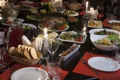 Partido de jantar Imagem de Stock Royalty Free