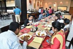 Partido de jantar Foto de Stock Royalty Free