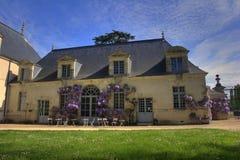 Partido de jardín de la casa Fotografía de archivo