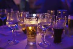 Partido de la bebida Foto de archivo