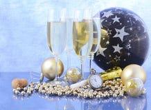 Partido de la celebración del Año Nuevo Fotos de archivo libres de regalías