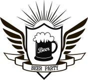 Partido de la cerveza Imágenes de archivo libres de regalías