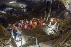 Partido de la cueva foto de archivo libre de regalías