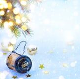 Partido de la Feliz Año Nuevo del arte Imágenes de archivo libres de regalías