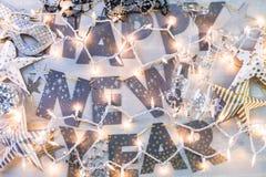 Partido de la Noche Vieja Fotos de archivo libres de regalías