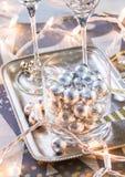 Partido de la Noche Vieja Imagen de archivo libre de regalías