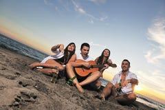 Partido de la playa Foto de archivo libre de regalías