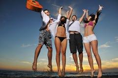 Partido de la playa Imagen de archivo